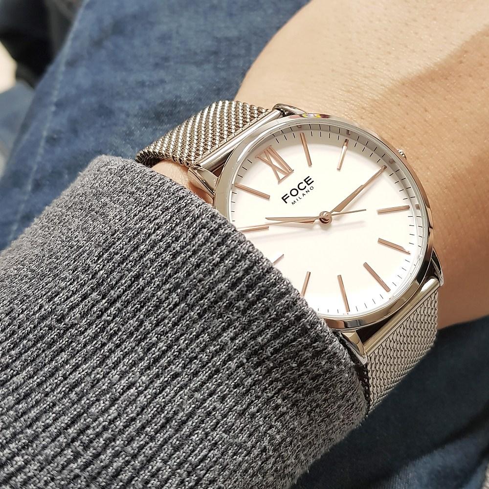 포체 남자 손목시계 남성 학생 FM7520 무료선물포장