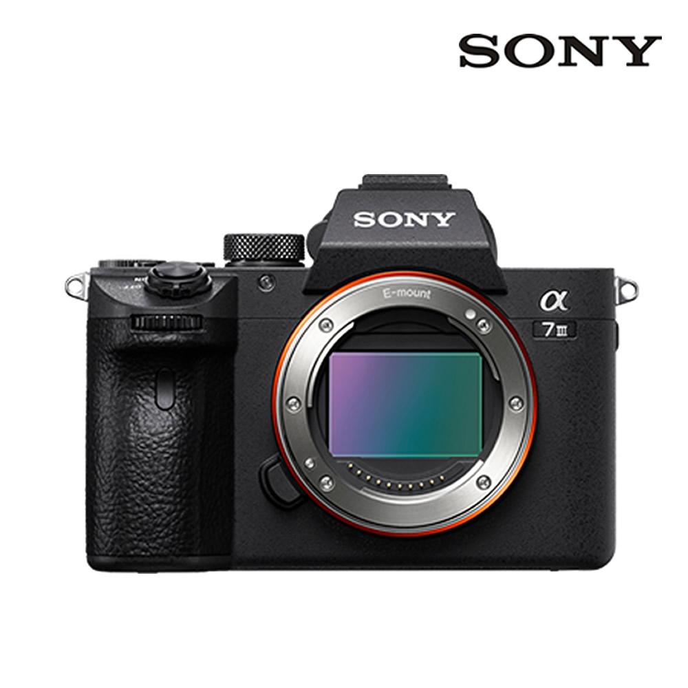 소니 풀프레임 알파 A7M3 Body A7III 미러리스카메라, 단품(렌즈미포함)