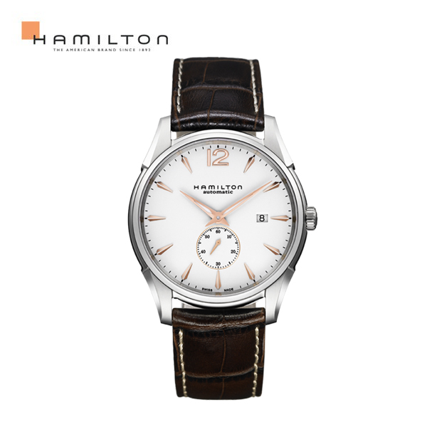 해밀턴 남성가죽시계 재즈마스터 스몰세컨 H38655515