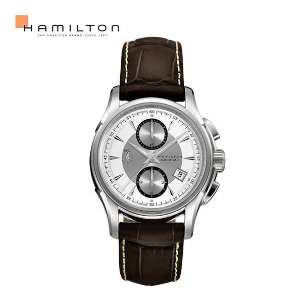 해밀턴 남성가죽시계 재즈마스터 크로노 H32616553