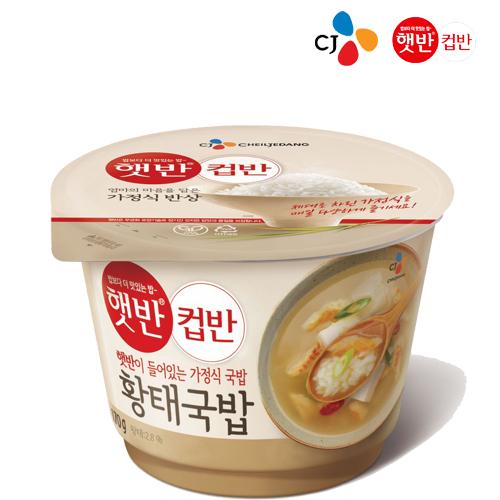 CJ 황태국밥, 170g, 1개