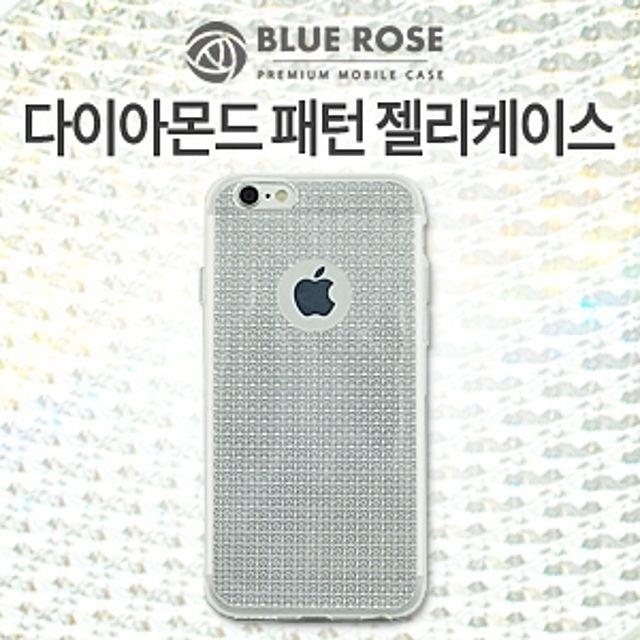 폰케이스 LG케이스 아이폰케이스 dk(BLUE ROSE 블루로즈)갤럭시J7 2016(J710) 다이아몬드 패턴 젤리케이스(투명)dkjf 갤럭시케이스 아이폰, 본상품선택, 본상품선택