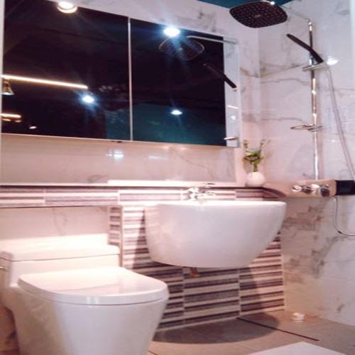[첫사랑이야기] 주택화장실인테리어 예쁜화장실 예쁜욕실 ES8413, 블랙