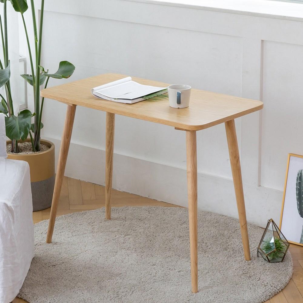 룸스퀘어 원목 카페테이블 커피테이블 티테이블 모음, 04_직사각카페테이블900(네추럴)