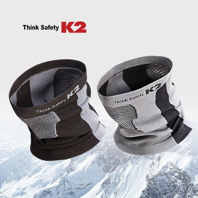 K2 소프트 넥게이터 넥워머 겨울용 목도리, 라이트그레이