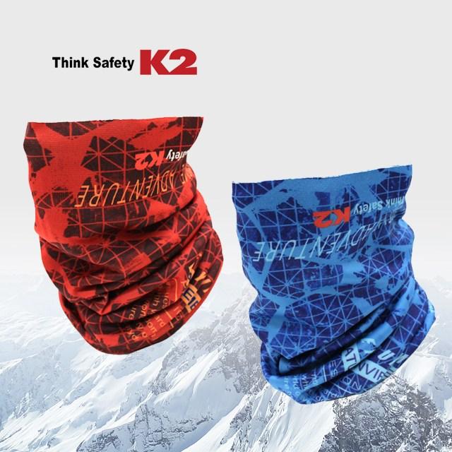 K2 동계형 멀티스카프 넥워머, 블루
