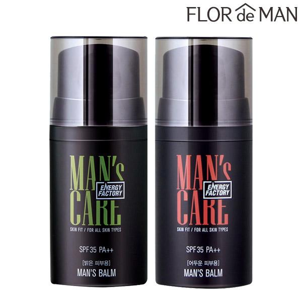 꽃을든남자 에너지팩토리 스킨핏 맨즈밤 BB/CC크림, 어두운피부용, 1개
