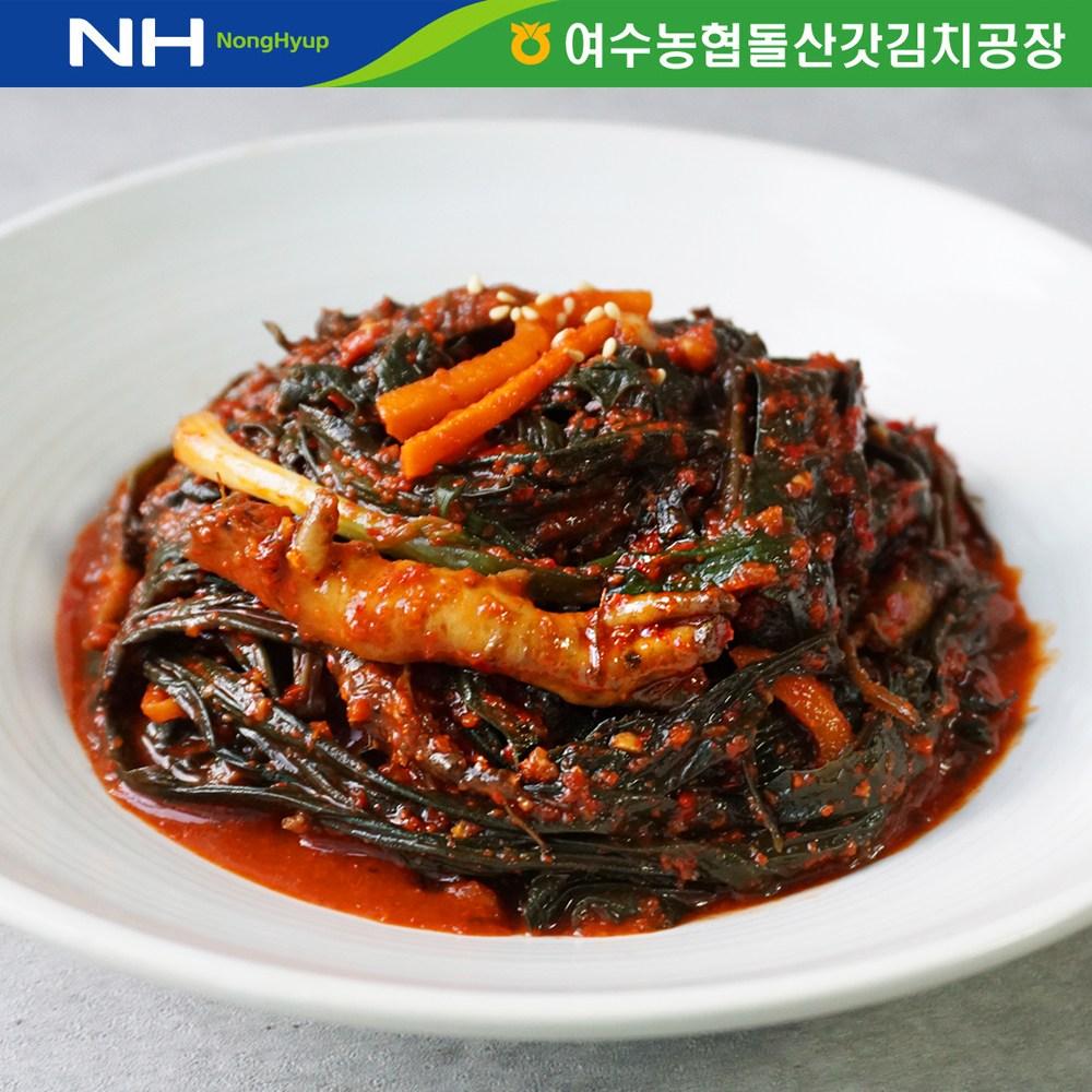 더싱싱 (HACCP 전통식품인증) 여수농협 국내산 고들빼기3kg, 3kg, 1개
