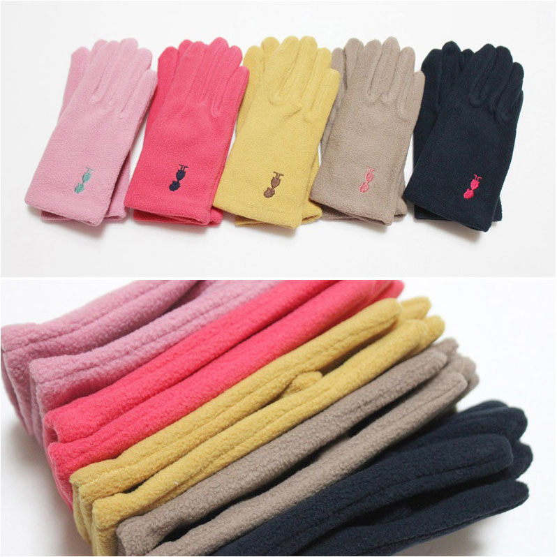 유아 아동 어린이 심플폴라폴리스 따뜻한 손가락 장갑