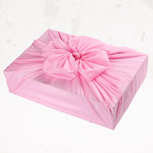 [글라라세상] 선물포장용 일반보자기 특대(124x124cm), 분홍색, 1장