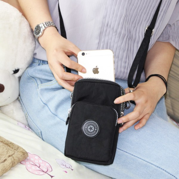 미리트래블 가벼운 핸드폰가방 휴대폰가방 미니크로스백