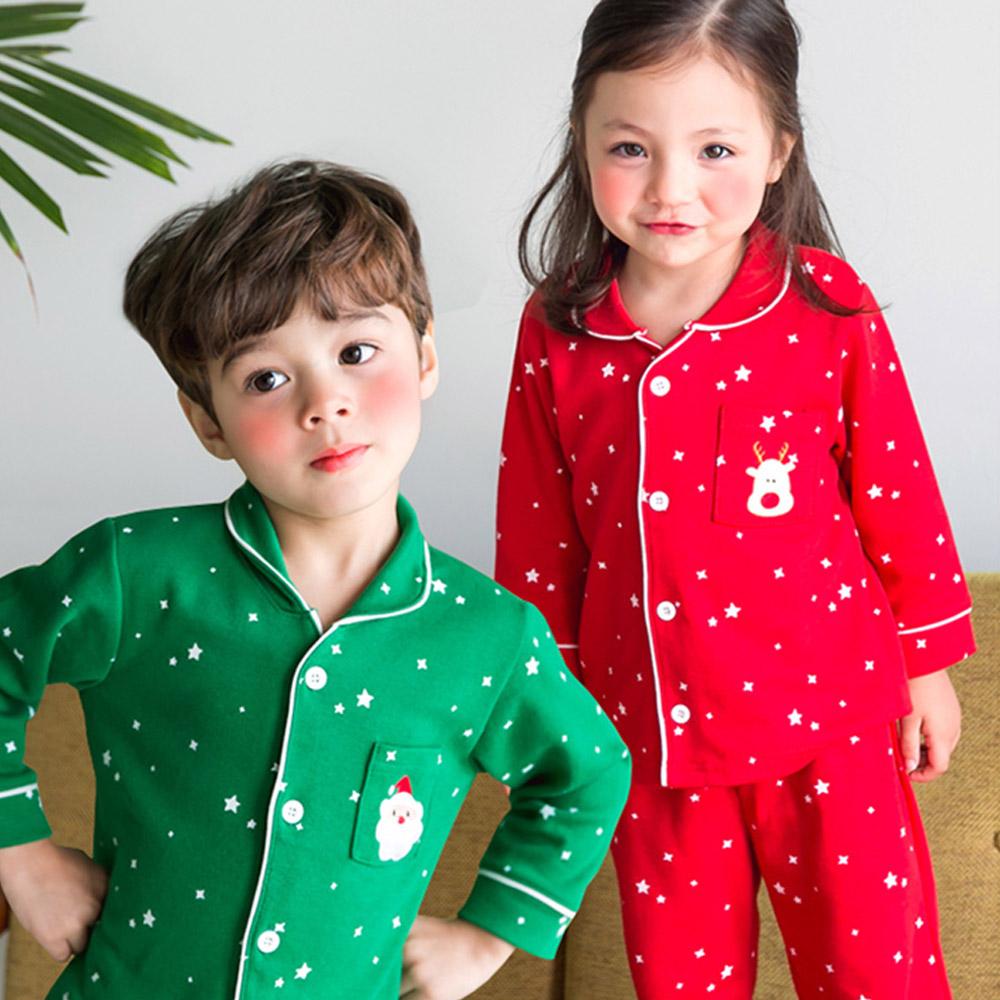 JM 유아복 아동복 리틀래빗FW -크리스마스잠옷