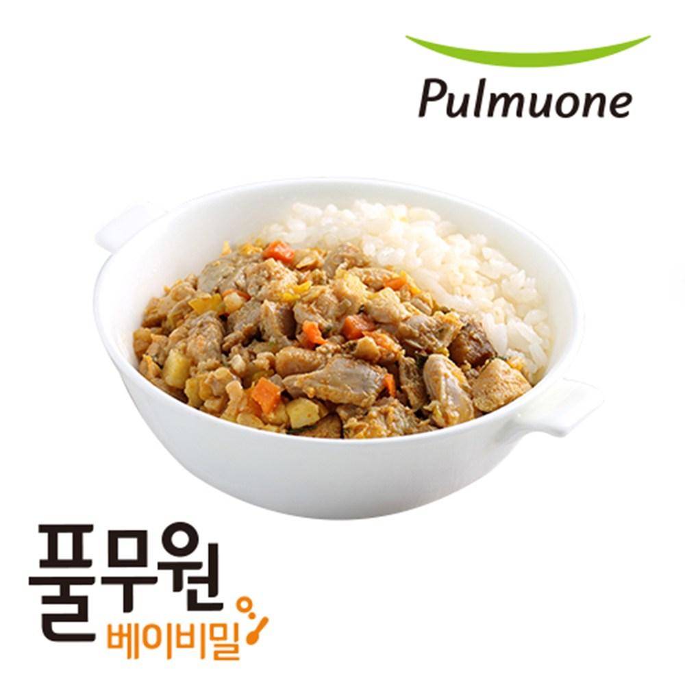 베이비밀 풀무원 이유식 영양덮밥플러스 1일2팩 2주12일, 단품