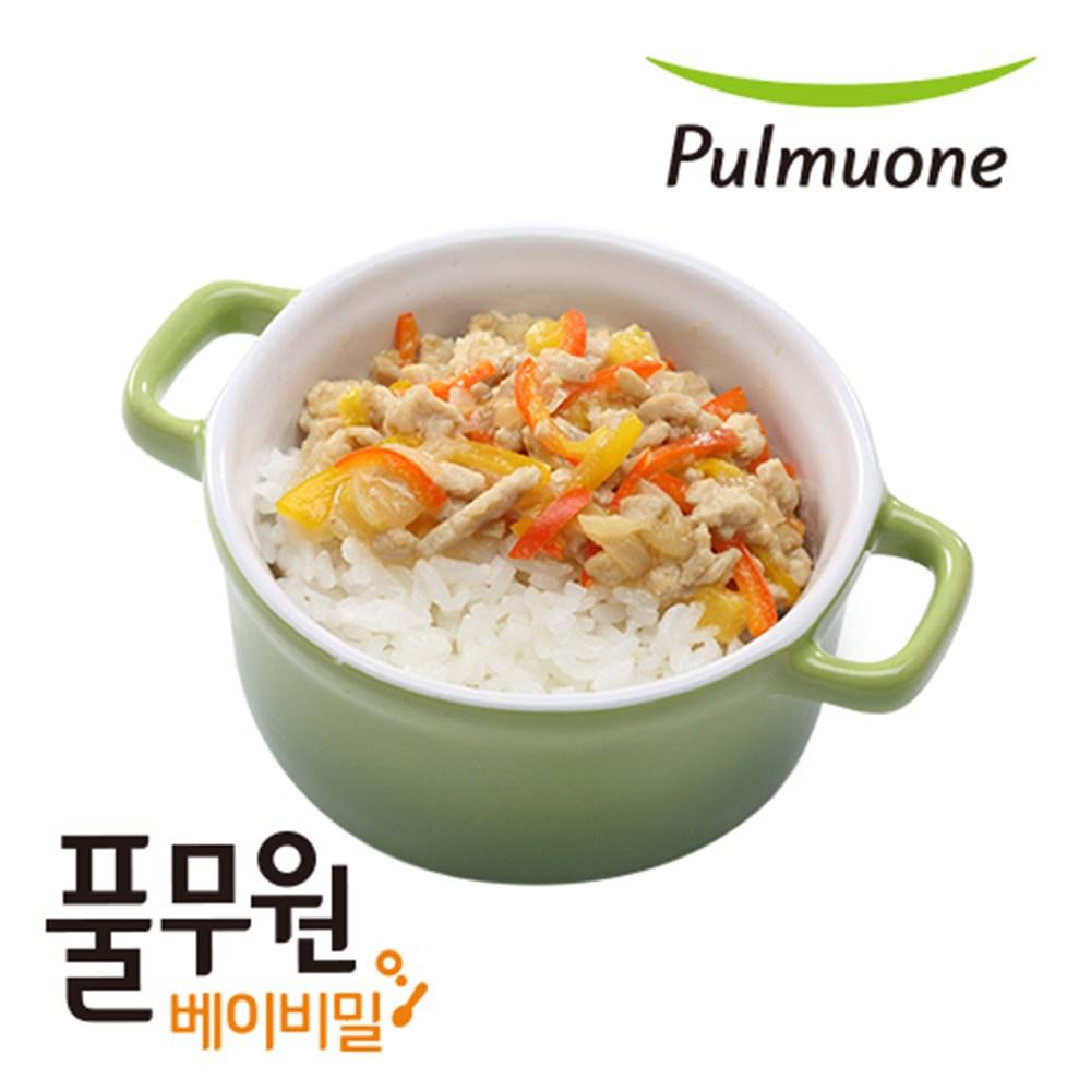 베이비밀 풀무원 이유식 영양덮밥 1일2팩 2주12일, 단품