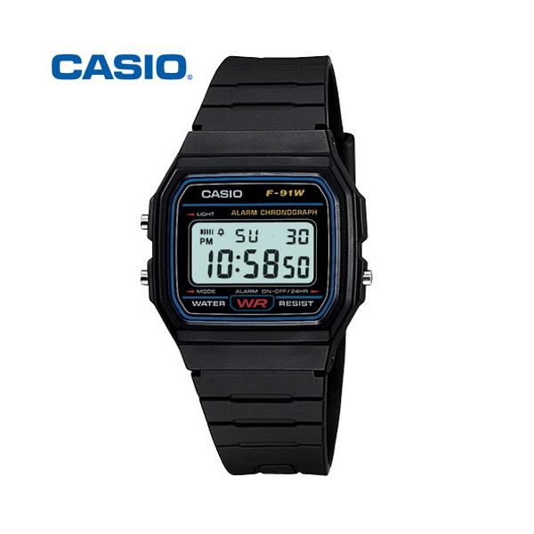 카시오 CASIO 남성용 F-91W-1D 군인시계 군대 군용 전자 스포츠 군인선물 시계