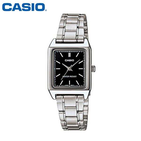 카시오 CASIO 여성 LTP-V007D-1E 메탈밴드 아날로그 손목시계