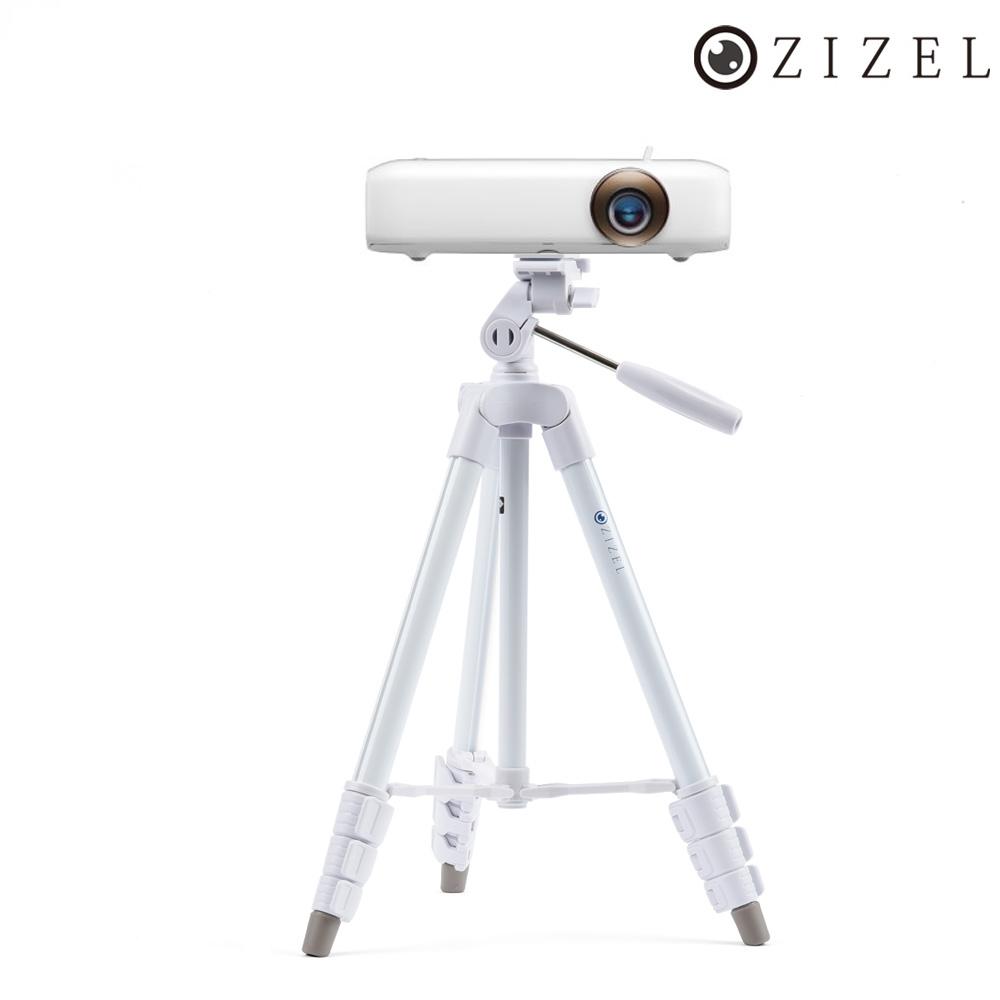 ZIZEL 무료배송 LG 시네빔 미니빔 PH550 PF50KA 화이트 삼각대, 단일상품