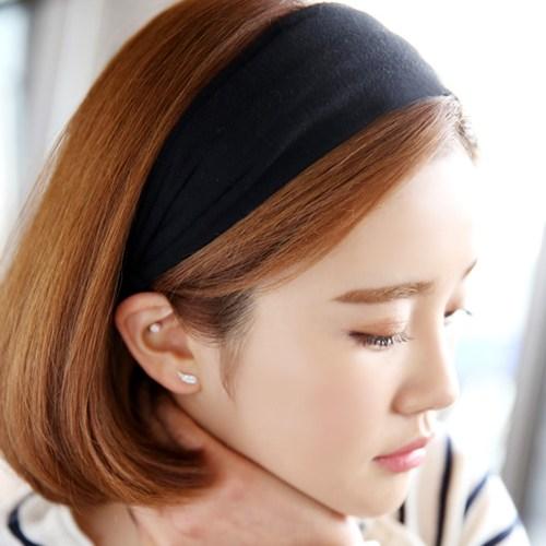 미스21 [1+1무료배송] 훈훈 헤어밴드 머리띠 무지헤어밴드 넓은머리띠