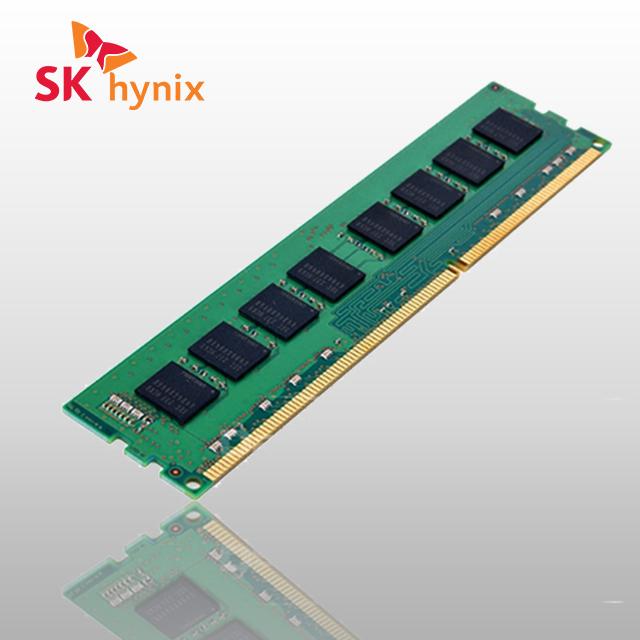 하이닉스 데스크탑 메모리 DDR3 4G PC3-12800U 양면, 단품