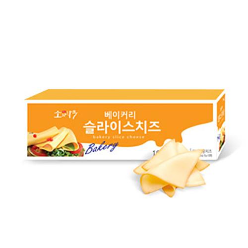 소와나무 대용량 베이커리 슬라이스 치즈 100매 (1.8kg), 100매입