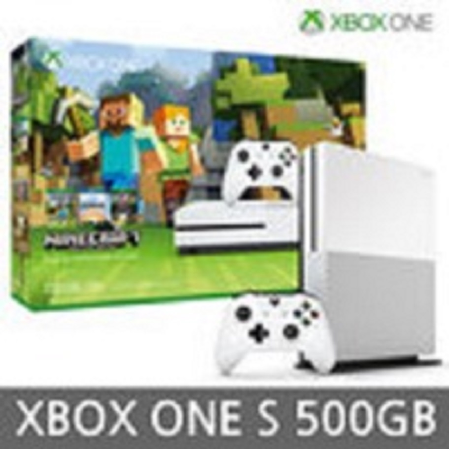 XBOX ONE S 마인크래프트 500G 패키지 정발새제품