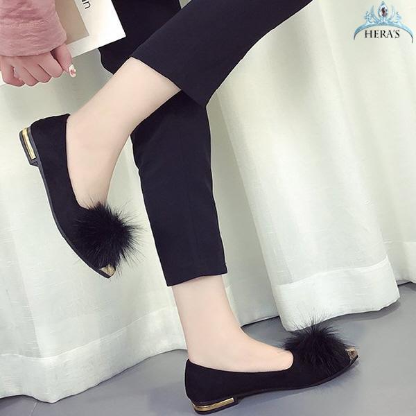 동자언니 메프니 여성 털단화 신발