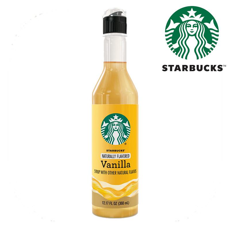 스타벅스 카페 바닐라 시럽 360 ml, 스타벅스 베리스모 바닐라 시럽/360ml