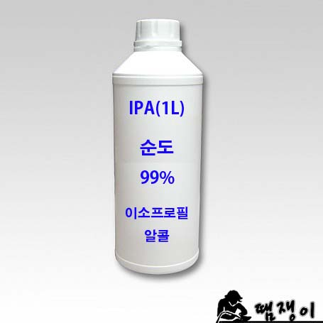 LG화학 IPA-1리터 PCB세척제 (이소프로필알콜), 1개