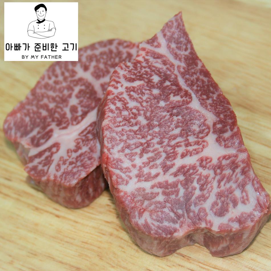 아빠가 준비한 고기 고품질와규삼각살 마블링6UP 330G, 1개