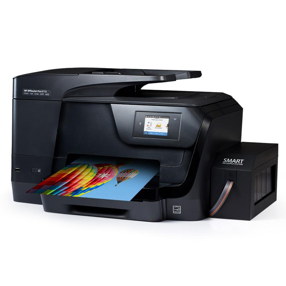 HP 8710(수입정품) 팩스복합기 무한잉크, hp 8710(수입정품) 팩스복합기 + 무한잉크공급기 설치완제품