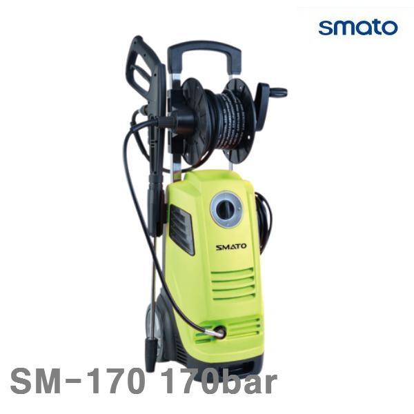 스마토 고압세척기 SM-170 170bar 2 500W 7.3ℓ min (1EA) AWY-23000 전동 엔진