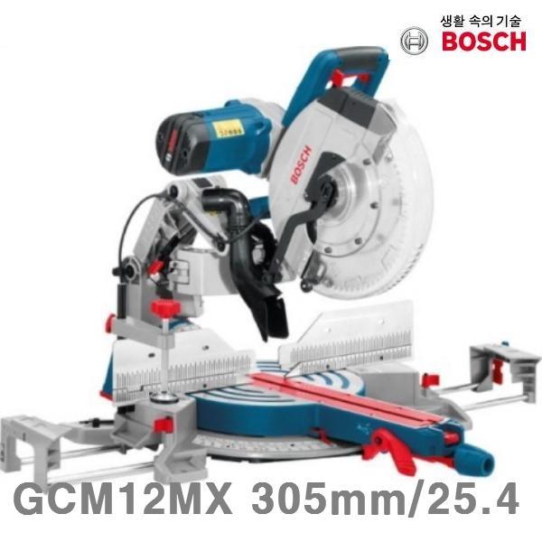 보쉬 각도절단기 GCM12MX 305mm 25.4 1 800W 4 300RPM (1EA) AWY-15543 절삭 초경, 본상품선택 (POP 80330970)
