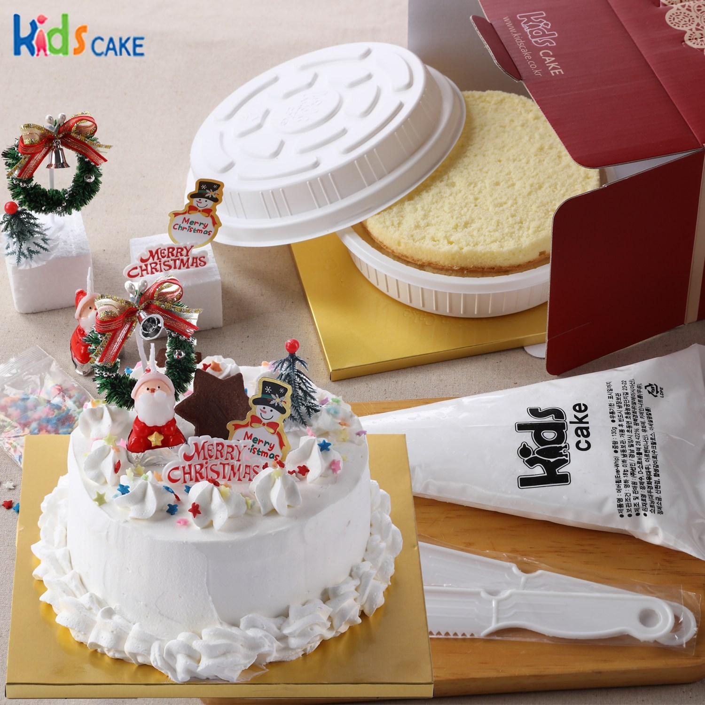 키즈케익 나만의 크리스마스 케익만들기세트!(1호), 1세트