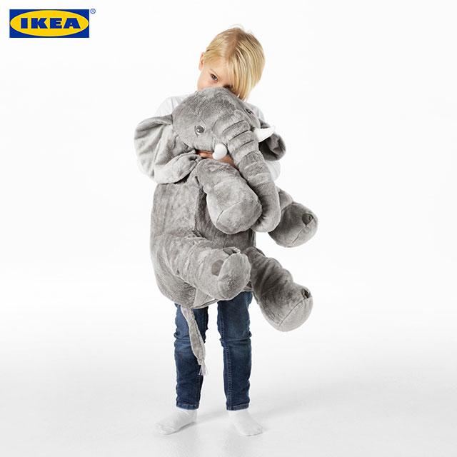 이케아 애착인형 대형인형 동물인형, 03.코끼리(503.735.92)