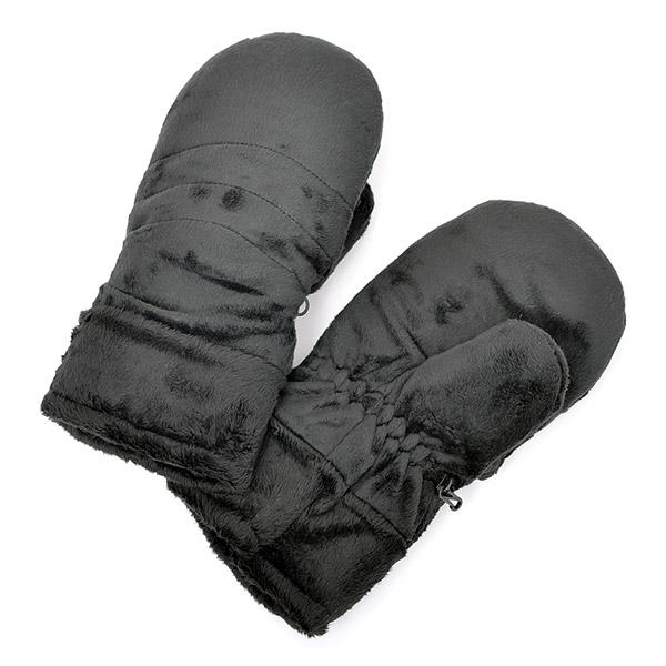 극세사 군용 벙어리 장갑 블랙