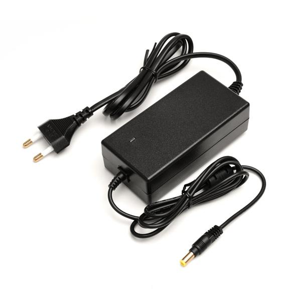 삼성 LG 모니터 아답터 전원케이블 일체형 12V 5A / 내경2.0~2.5 외경5.5, 블랙