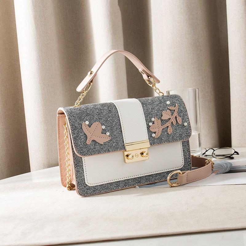 소녀 가을 겨울 야생 패션 작은 가방