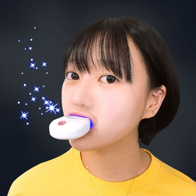 365할인샵 셀프 치아미백 기계, 1개