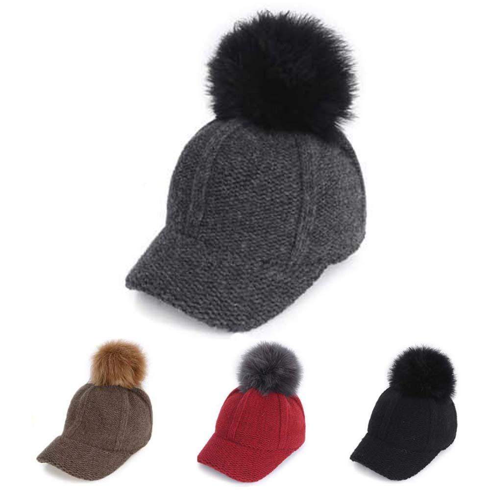(피에스)방울니트캡 모자 털모자 겨울모자 캡모자