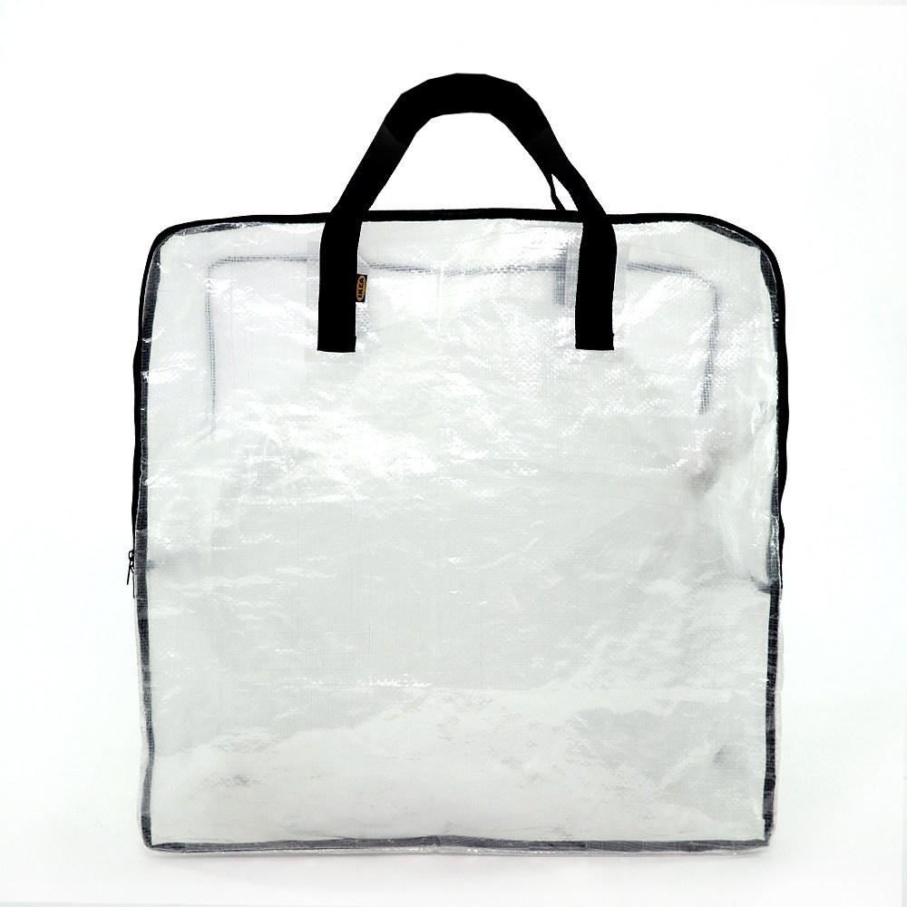 이케아 정리함 수납가방 이불정리 장난감정리 분리수거 65x22x65cm, 1개