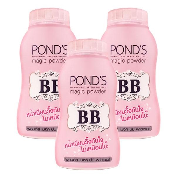 폰즈 BB 매직 파우더 핑크 50g 3개, 단품