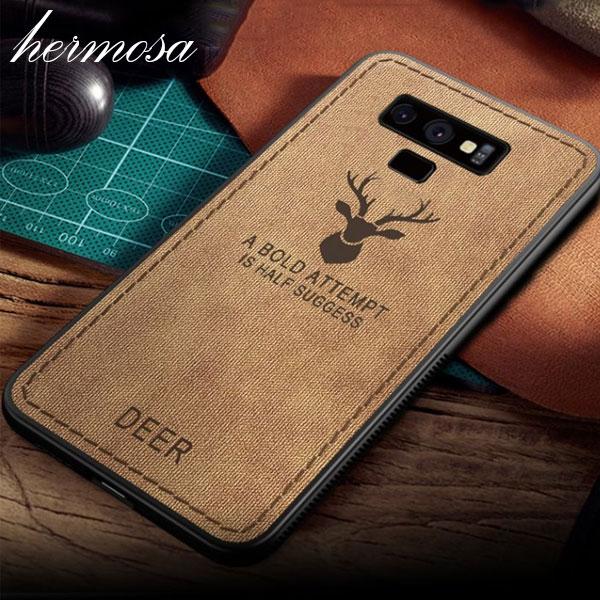 에르모사 galaxy 갤럭시 s8플러스 갤s8플러스 s8+ 갤럭시s8플러스 케이스 사슴 패브릭 휴대폰