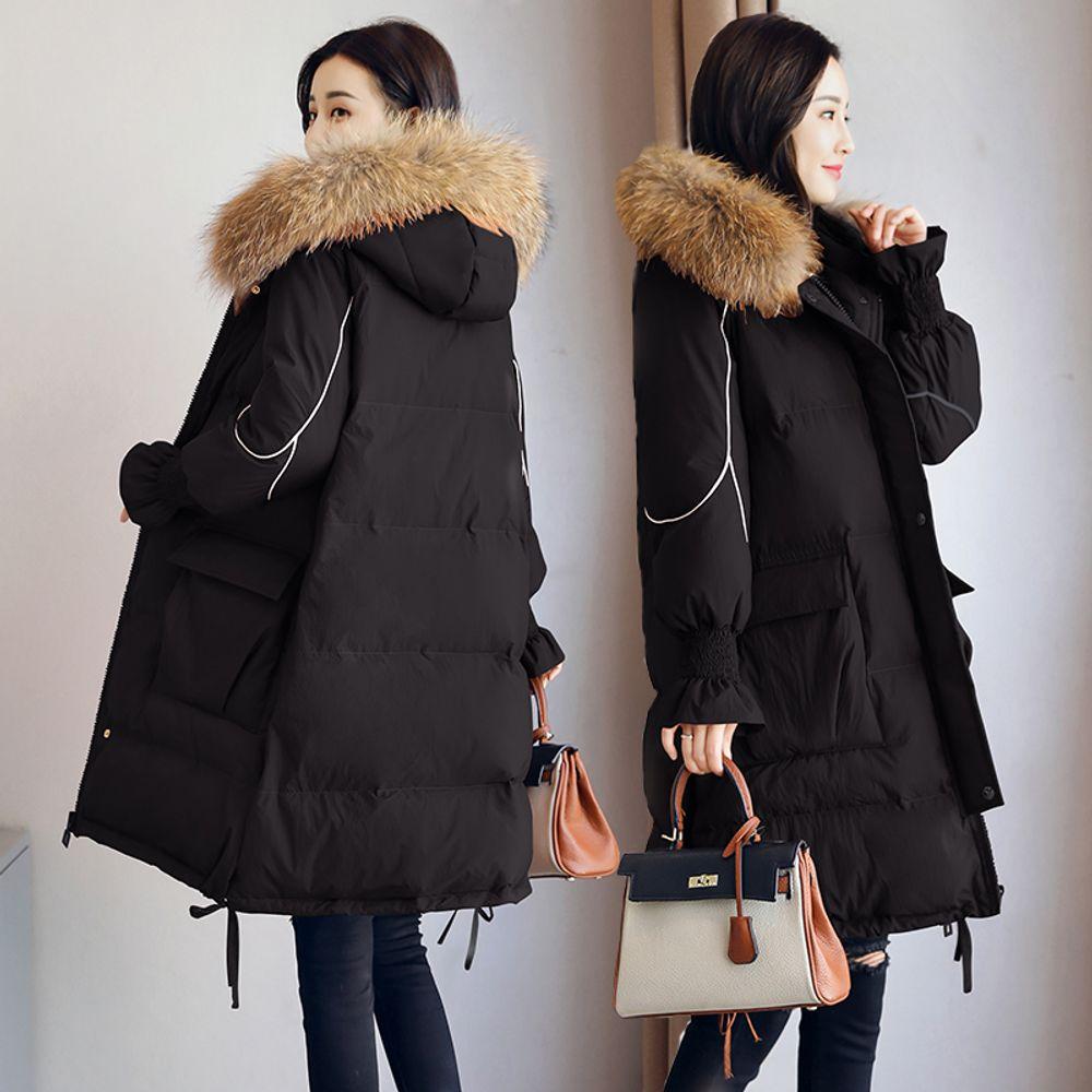 여성 겨울코트 느슨한 루즈핏 퀄리티 임산부 패딩자켓
