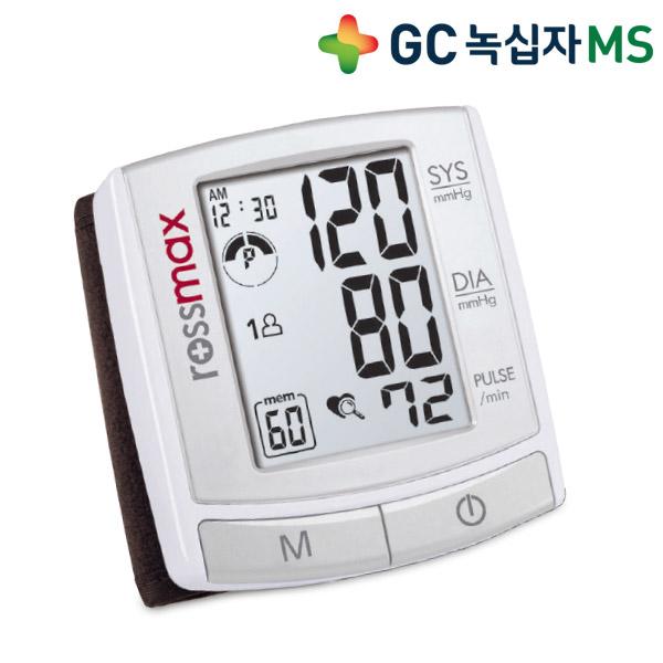 녹십자 가정용 혈압계 혈압측정기, 1개, 손목형 혈압계 BI701