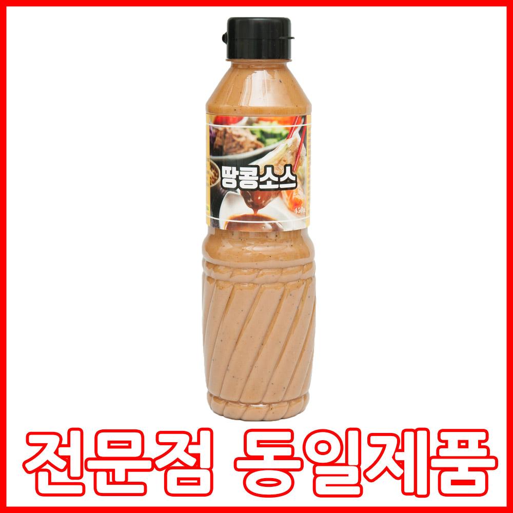 원조 땅콩소스 450g, 1병