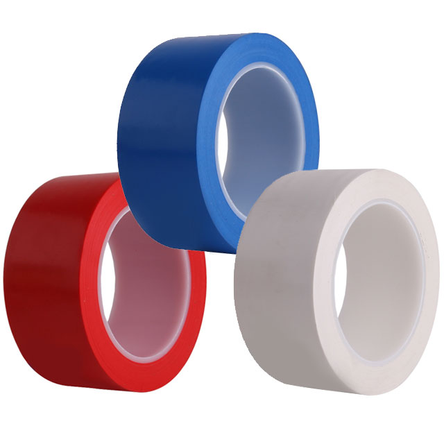 [동화] 바닥라인테이프 50mm*1개 - 색상선택 / 색테이프 칼라테이프, 백색