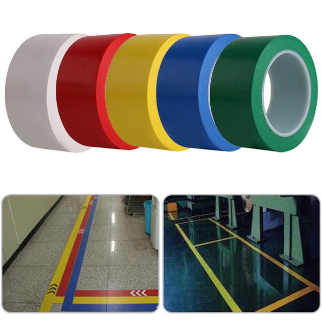 [동화] 바닥라인테이프 50mm*1개 - 색상선택 / 색테이프 칼라테이프, 빨강