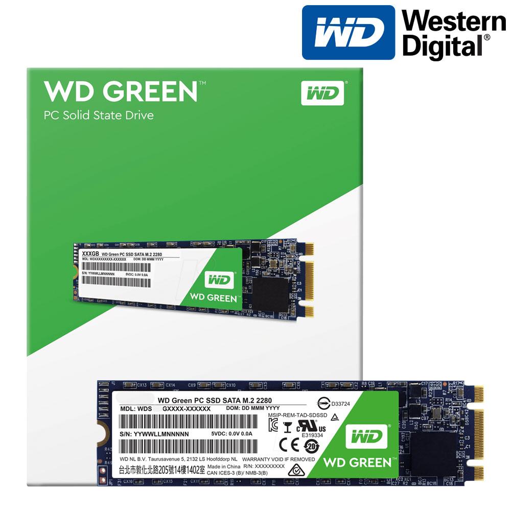 WD Green M.2 2280 SSD, 480GB