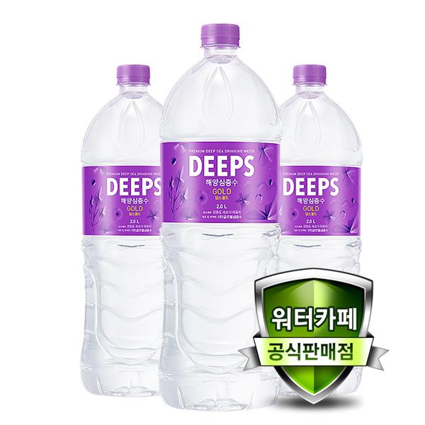 딥스 해양심층수 딥스골드, 2L, 12개