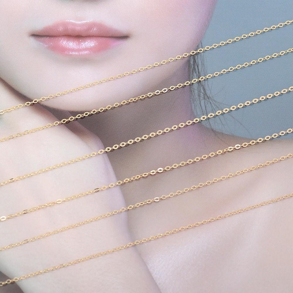 쥬골드 14k목걸이체인 14k목걸이 14k체인 금목걸이 목걸이